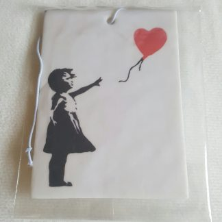 Red Balloon Girl Car Freshener