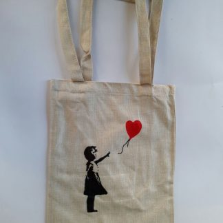 Totebag - Balloon Girl (Heart)