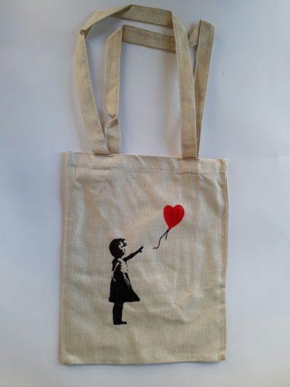 Totebag - Balloon Girl (Heart)