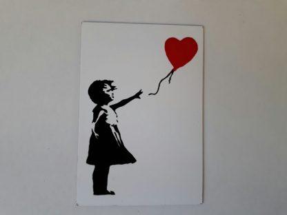 Magnet - Balloon Girl (Heart)