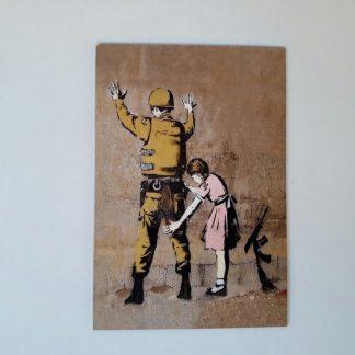 Magnet - Girl Frisking Soldier