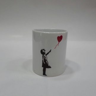 Mug-Red Balloon Girl