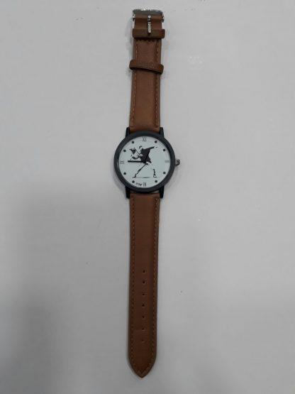 Flower Thrower Wristwatch (Brown)