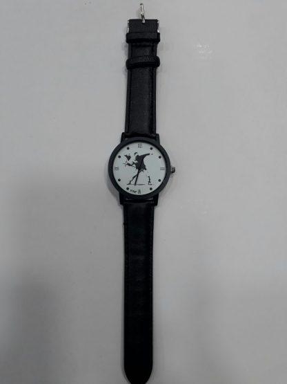 Flower Thrower Wristwatch (Black)