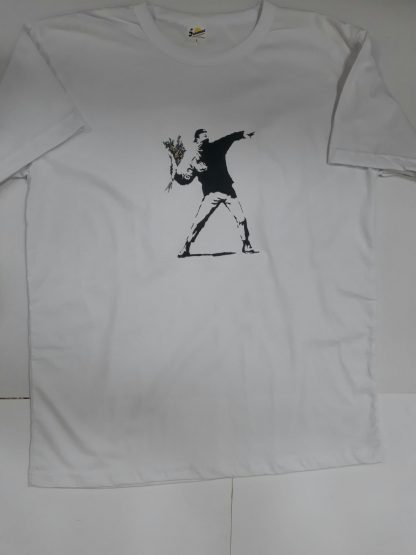 Flower Thrower T-Shirt