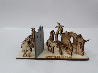 Nativity Scene Bethlehem Wall