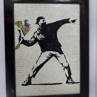 Flower Thrower Mosaic