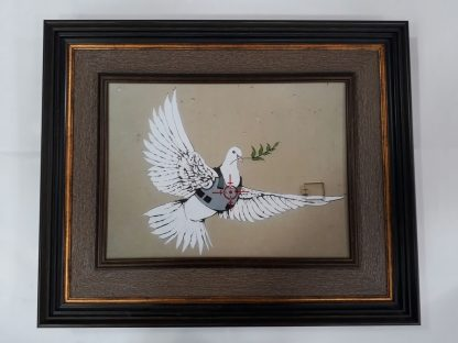 Picture Frame - Armored Dove