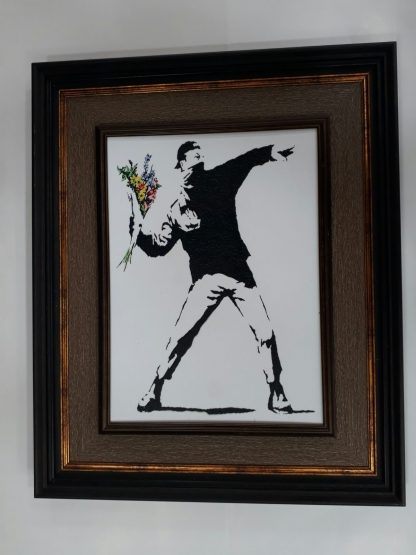 Picture Frame - Flower Thrower