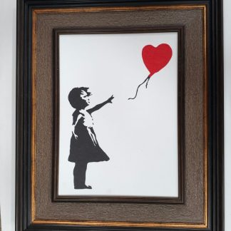 Picture Frame - Red Balloon Girl