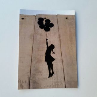 Postcard - Balloon Girl