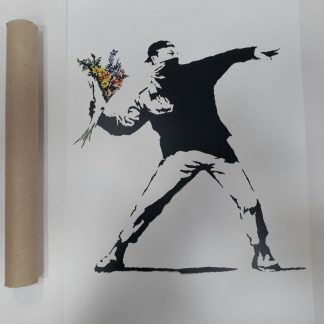 Poster - Flower Thrower