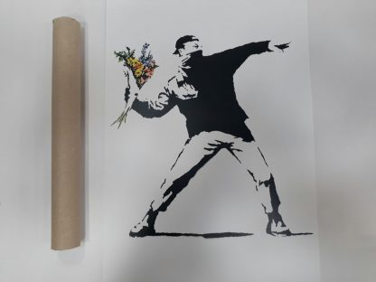 Poster - Flower Thrower