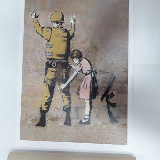 Poster - Girl Frisking Soldier