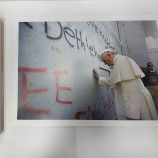 Poster - Pope visits Bethlehem