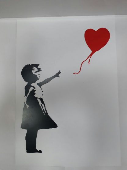 Poster - Red Balloon Girl