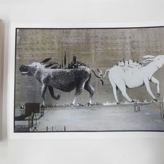 Poster - Tied Mules