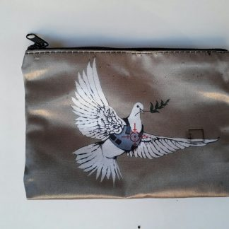 Small Zipper Purse - Armored Dove