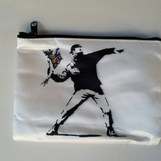 Small Zipper Purse- Flower Thrower