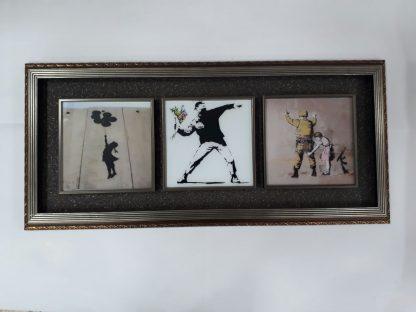 Tri Frame - Bansky