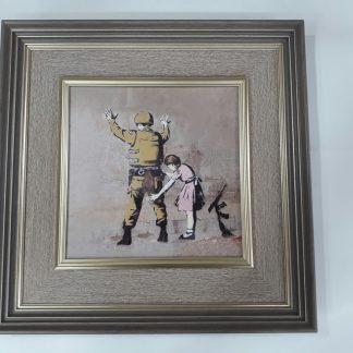 Frame - Girl Frisking Soldier