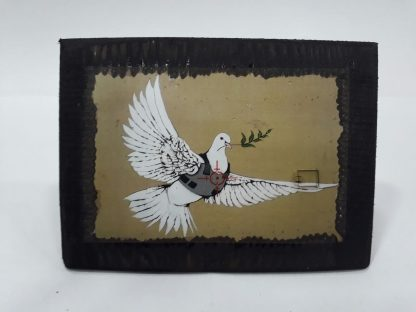 Wood Frame - Armored Dove