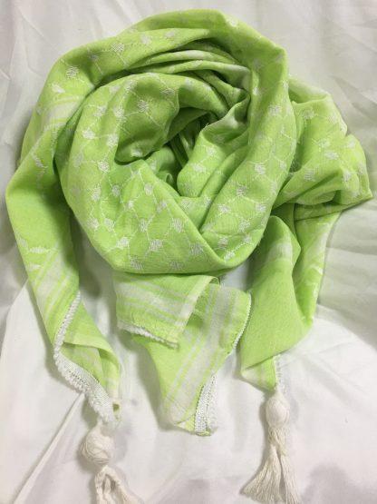 keffiyeh-limegreen